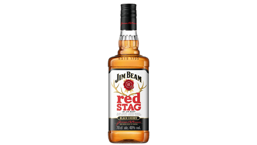 Packshot Red Stag by Jim Beam