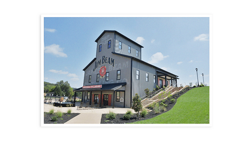 Photo of the Jim Beam American Stillhouse.