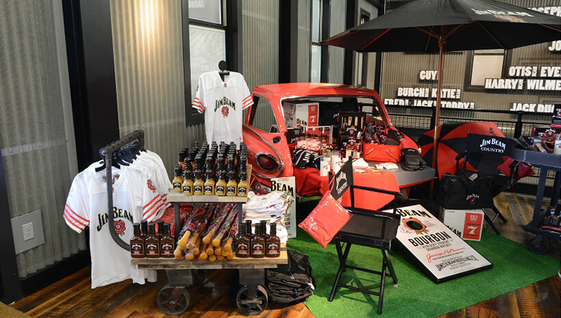 Merchandise de Jim Beam®.