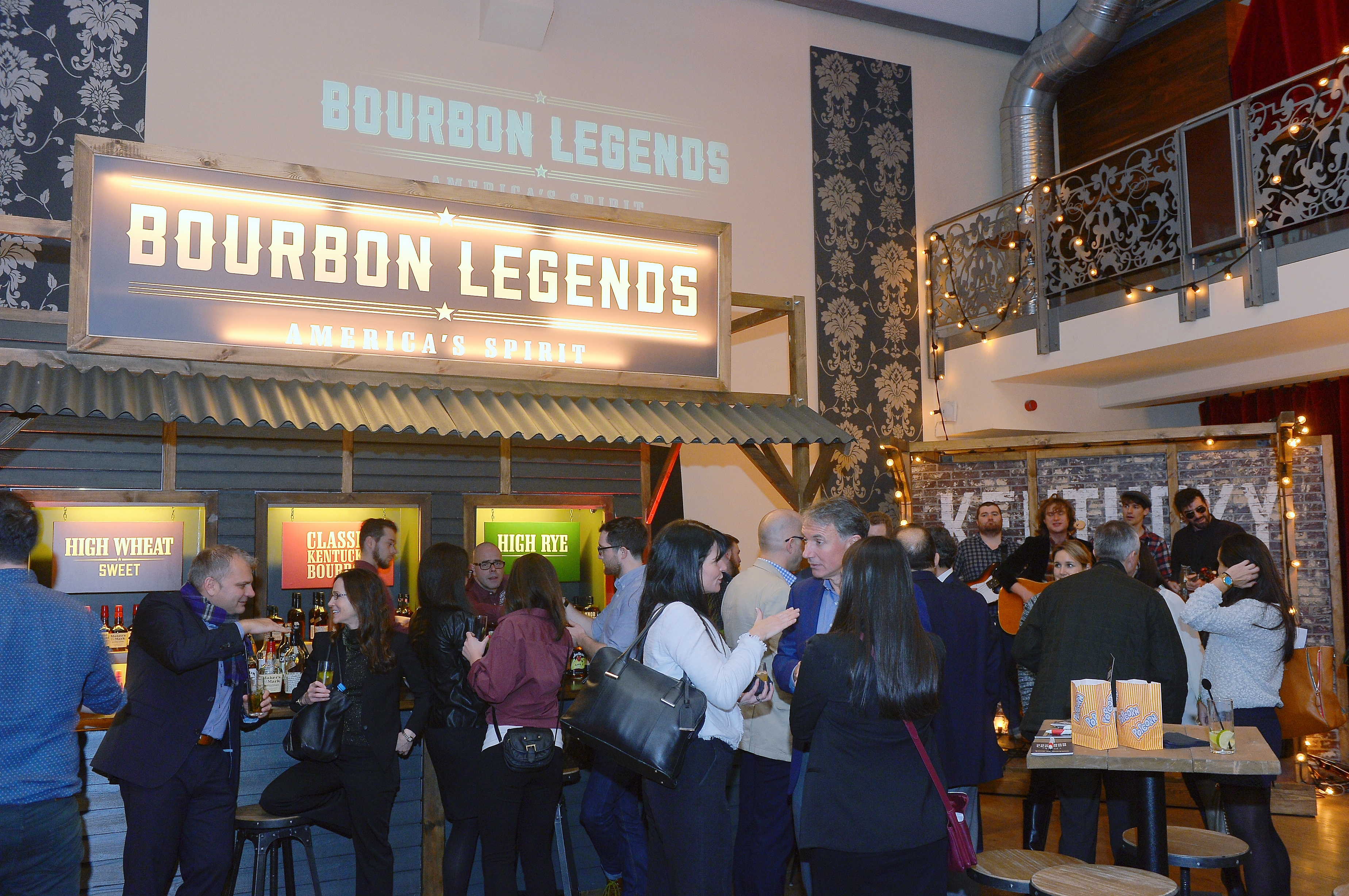 Bourbon Legends Pop-Up Event in Frankfurt