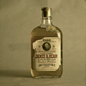 Old James B. Beam bottle