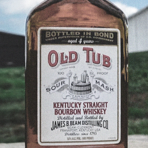 "Beam family bourbon—bottled as ""Old Tub""."