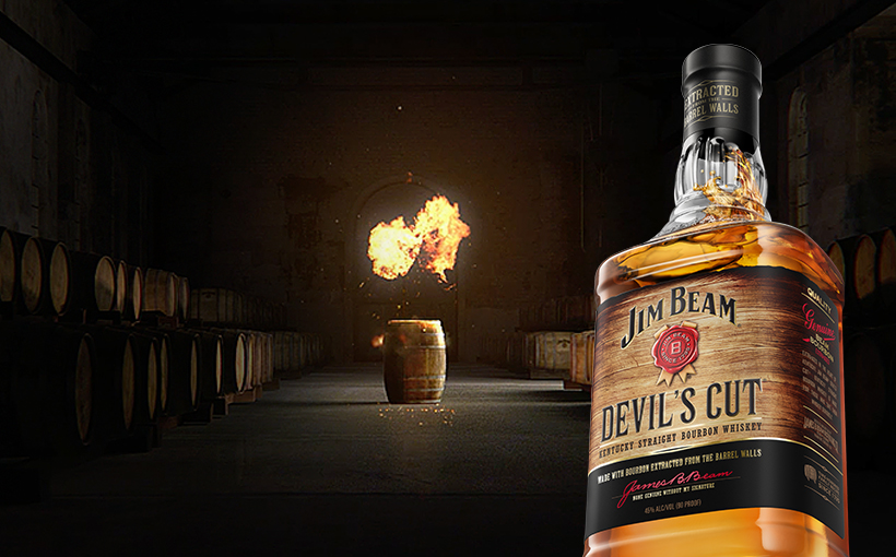 Image de Jim Beam® Devil's Cut.