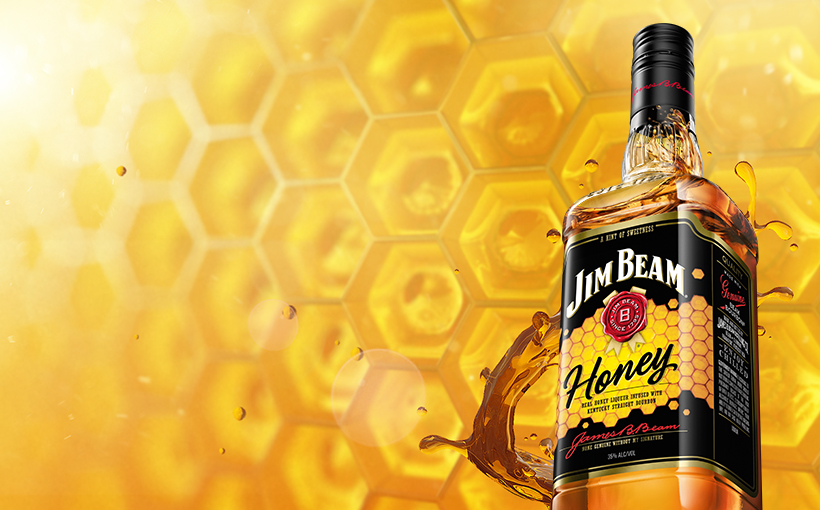 Packshot de Jim Beam® Honey.