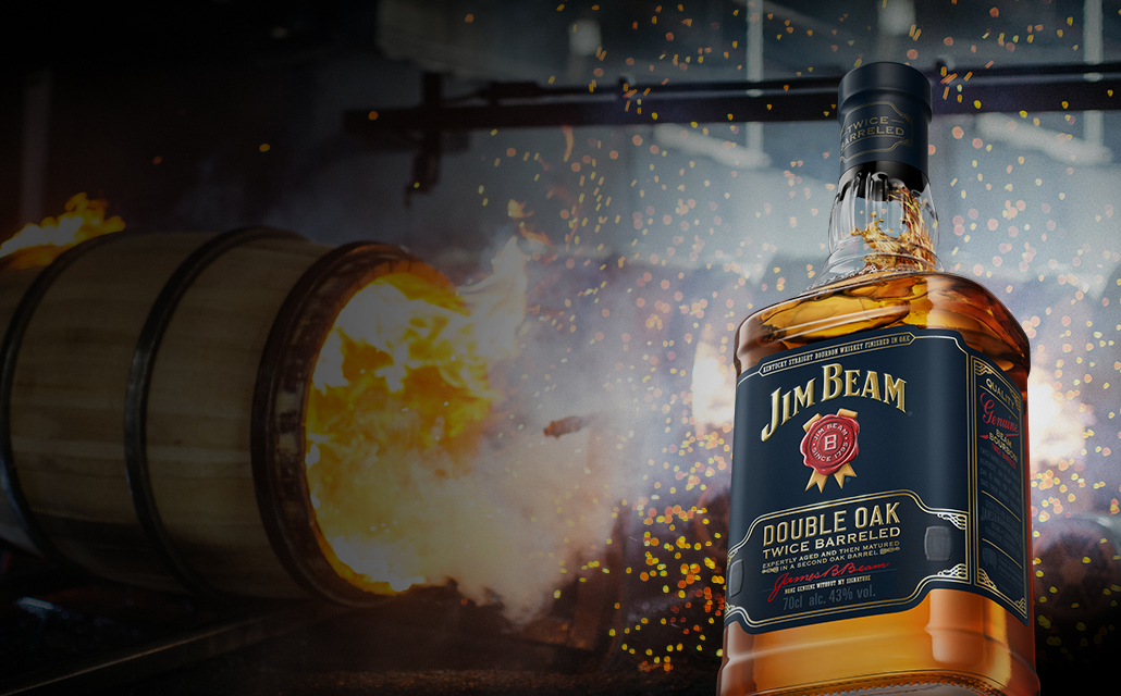 Packshot of Jim Beam® Double Oak.