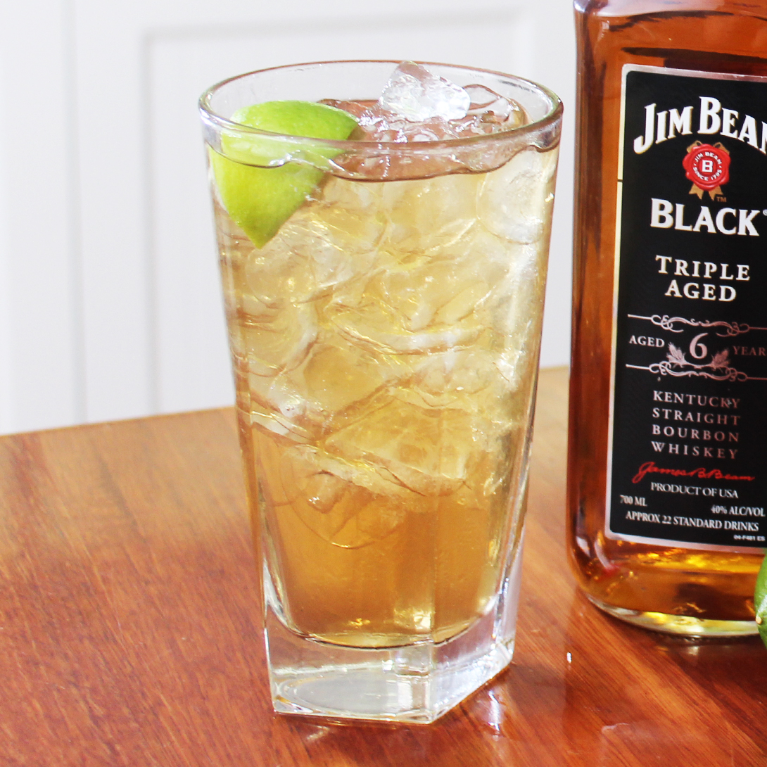 Jim Beam Black® and Ginger Ale