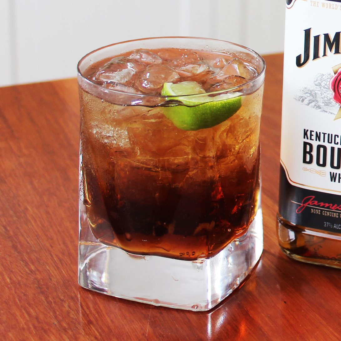 Jim Beam® White and Cola with Lime