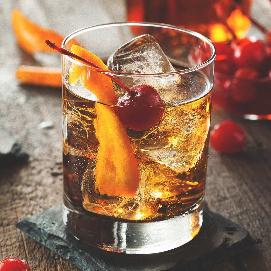 Jim Beam Rye® Old Fashioned