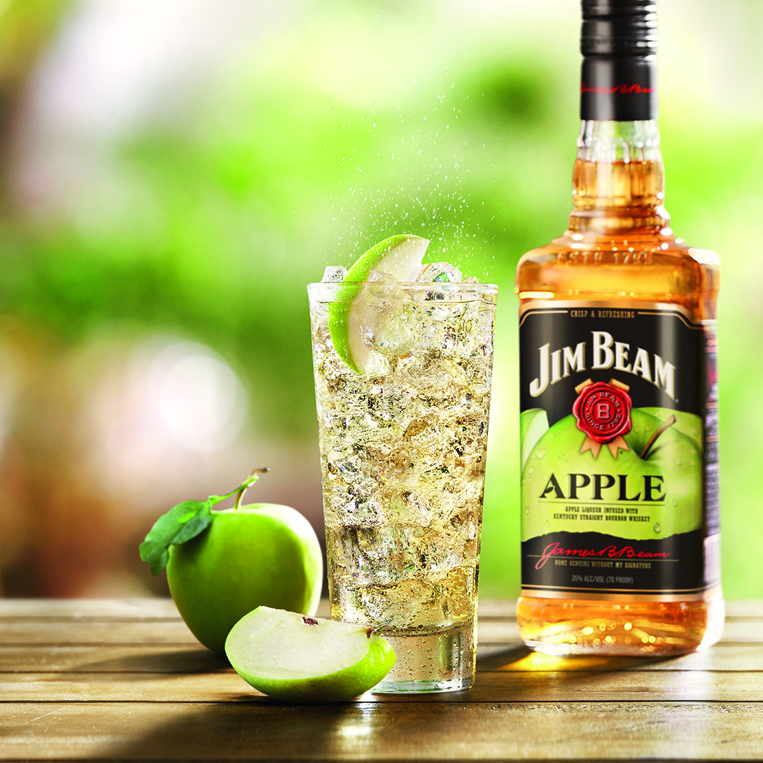 JIM BEAM APPLE SPLASH