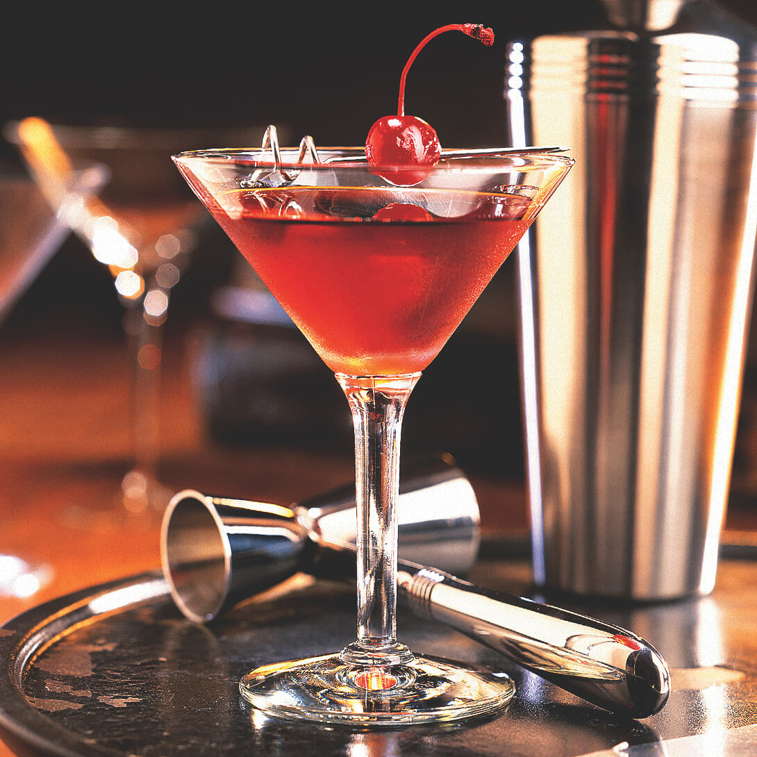 Jim Beam Rye Manhattan Recipe Bourbon Mixed Drink Recipe Cocktails