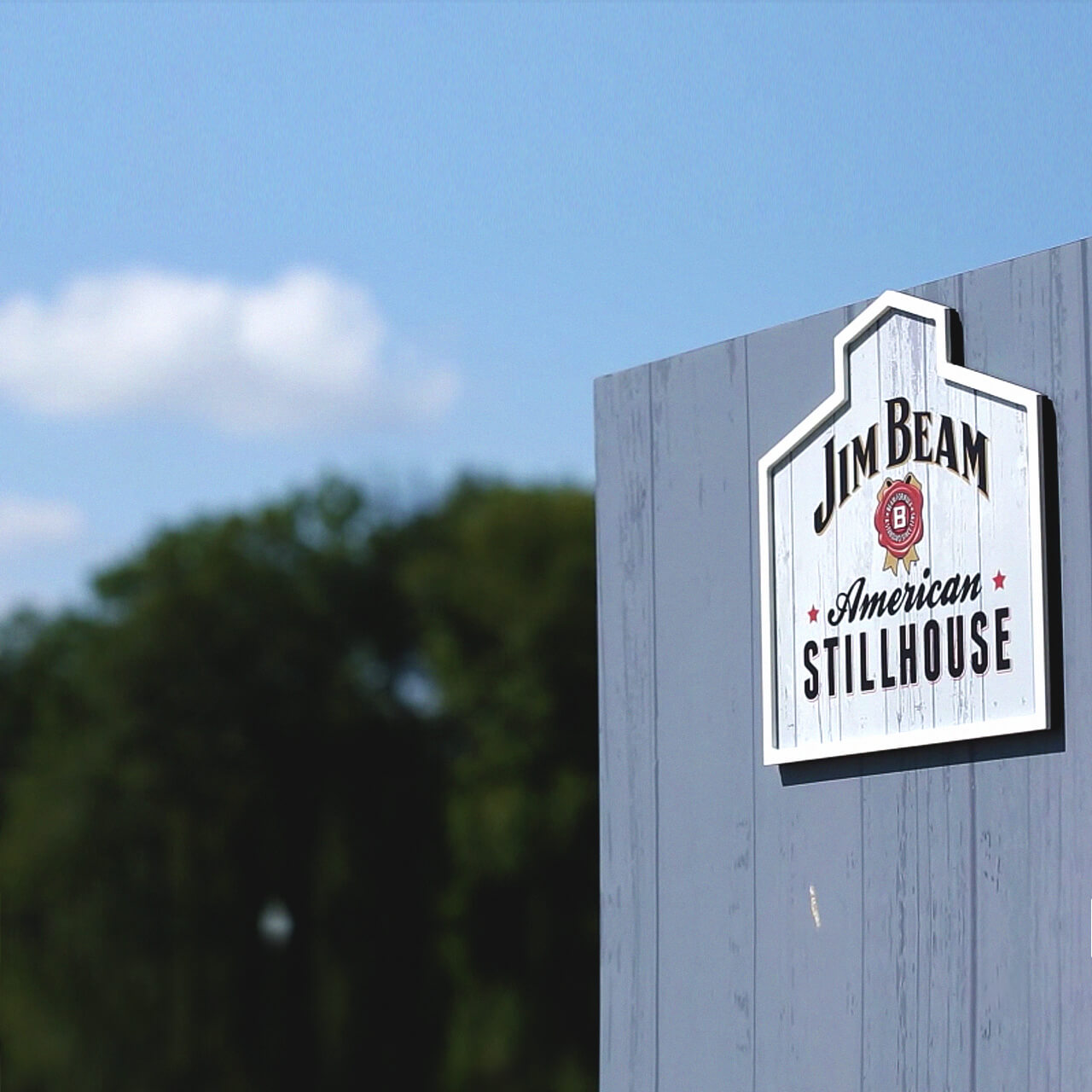 Logo da Jim Beam American Stillhouse.