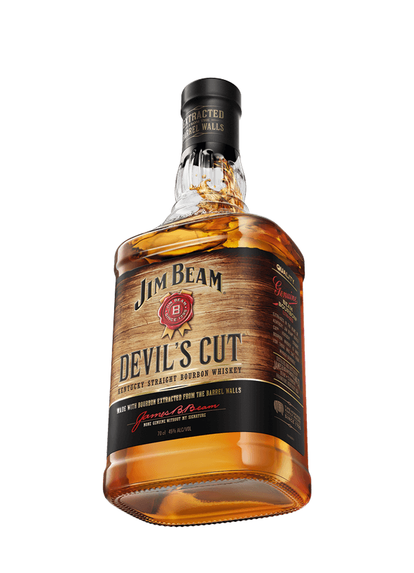 Packshot of Jim Beam® Devil's Cut®.