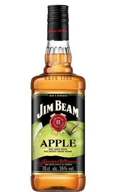 Packshot of Jim Beam Apple.