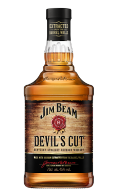 Jim Beam® Devil's Cut® Packshot.