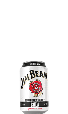 Packshot of Jim Beam® Cola can.